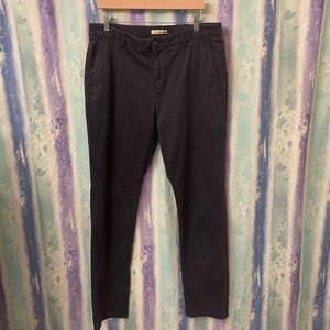 Men's Hawker rye dark blue cargo pants